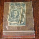 Vintage Postage Stamps Post Stamp Lot Collection 10 pc Bulgaria 25 st Green