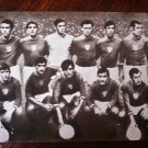 MEXICO 70 WORLD FOOTBALL CHAMPIONSHIP Mexican TEAM Vtg REAL PHOTO Card w/ INFO