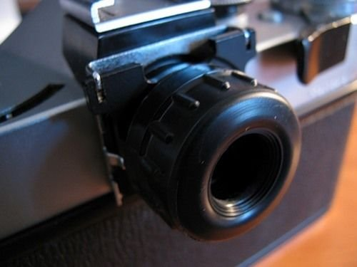 Vintage SLR Camera Ocular Attachment fits Zenith USSR Soviet Russia Made in 70's