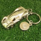 Ferrari P3 Official Team Keychain Car Model Mint Cond Shell Logo Keychain Ring