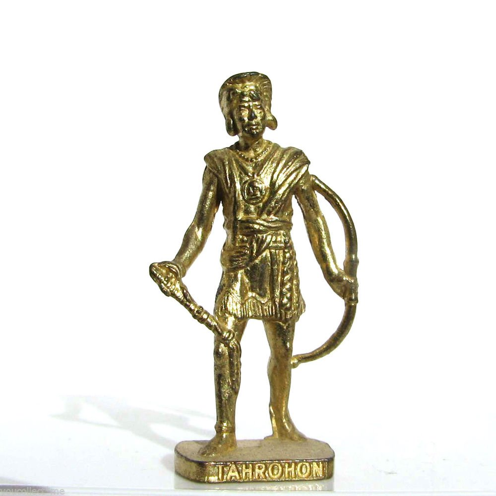 Tahrohon Kinder Surprise Metal Soldier Figurine Vintage Toy 4 cm