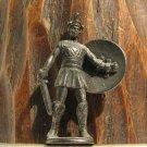 Spartan #4 Kinder Surprise Metal Soldier Figurine Vintage Toy 4 cm Gladiator