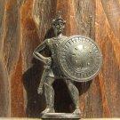 Spartan #1 Kinder Surprise Metal Soldier Figurine Vintage Toy 4 cm Gladiator