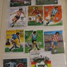 Vintage Paraguay Postage Stamps Lot Set Football Soccer World Championship
