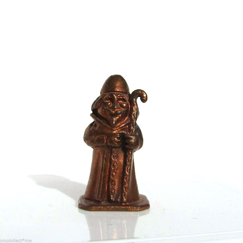 Castle Knight #3 Kinder Surprise Metal Soldier Figurine Vintage Toy 3 cm Brass