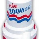 Bildge Pump Rule 2000