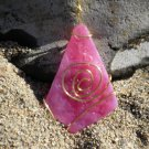 The Heart Of The Sea - Rare Pink Seaglass Pendant