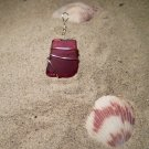 Aphrodite - Rare Red Natural Seaglass Pendant