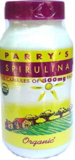 SPIRULINA Organic 3 bottles Protein Super Food