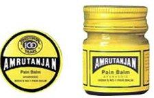 Amrutanjan Pain Balm 3 Bottles for Pain, Headache, Sinus, Sprain relief
