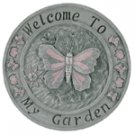 Alabastrite Butterfly Wall Plaque
