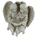 Angels Garden Wall Birdfeeder