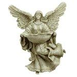 Alabastrite Garden Angel Birdfeeder