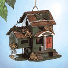 Wood Bed & Breakfast Birdhouse