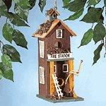 2-Story Fire Station Birdhouse