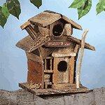"""Wood """"Granny's Inn"""" Birdhouse"""