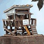 Wood Beach Bungalow Birdhouse