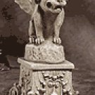 Alabastrite Gargoyle On Pedestal