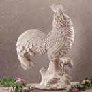 Stone Finish Rooster