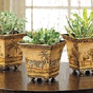 Nested Safari Tin Pots