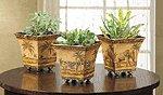 Nested Safari Tin Pots