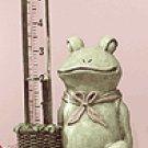 Alabastrite Frog Rain Gauge