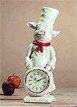 Pig Chef Clock