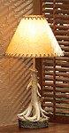 Antlers Lamp