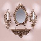Baroque Mirror-Sconce