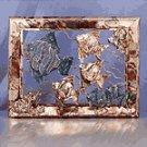 Fish Metal Framed Sculpture