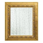 Crackle Gold Finish Mirror
