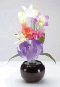 Fiber Optic Mixed Bouquet Lamp