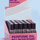 Lady's Perfume Oil Roll On Display