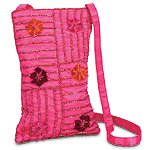 Embroidered Flower Bag