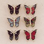 Brass Butterfly Pins