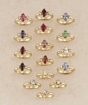 Birthstone Ring Assortment