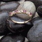 10K Gold Lady's Ruby Diamond Ring