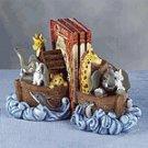 Alabastrite Noah's Ark Bookends