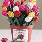 2-Dozen Assorted Rose Pen In Pot