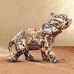 Patchwork Elephant - Safari