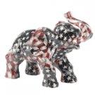 Patchwork Elephant - American Flag