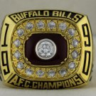 1990 Buffalo Bills AFC American Football Conference Championship Rings Ring