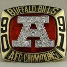 1991 Buffalo Bills AFC American Football Conference Championship Rings Ring