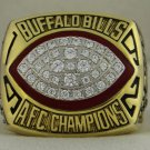 1992 Buffalo Bills AFC American Football Conference Championship Rings Ring