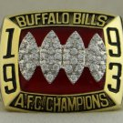 1993 Buffalo Bills AFC American Football Conference Championship Rings Ring