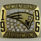 1996 New England Patriots AFC American Football Conference Championship Rings Ring