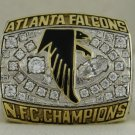 1998 Atlanta Falcons NFC National Football Conference Championship Rings Ring
