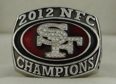 2012 San Francisco 49ers NFC National Football Conference Championship Rings Ring