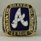 1991 Atlanta Braves NL National League World Series Championship Rings Ring