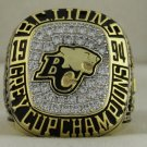 1994 BC Lions The 82nd Grey Cup Championship Rings Ring